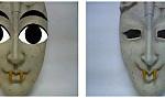 ニンテンドーDSiのカメラは、「石仮面」も顔として認識する