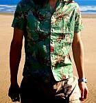 """サマーシーズン到来!の前に… """"ジョジョ×ultra-violence""""に「エアロスミス」柄のオープンシャツが登場!"""
