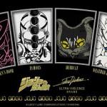 『ヘブンズ・ドアー』や『エコーズACT1~3』など、ultra-violenceから「ジョジョ」ロングTシャツが4種登場!