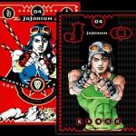 """『ジョジョニウム』4巻の表紙が公開、""""戦闘潮流""""イメージカラーは赤、価格は1,600円(税込)に上昇"""