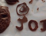 手作り『石仮面チョコ』