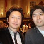 【波紋使い?】『ジョジョ』荒木飛呂彦先生(54歳)と、漫画家・川口憲吾先生(30代後半)のツーショット写真ッ!【吸血鬼?】
