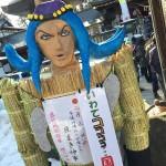 「豆まきしろ、節分にはそれが必要だ」 櫻山神社に『ジョジョ鬼』、今年はアナスイ!!(さんさ踊りVerを追記!)